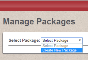 create_new_package_selection